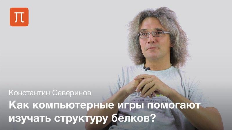 Фолдинг белка Константин Северинов ajklbyu tkrf rjycnfynby ctdthbyjd