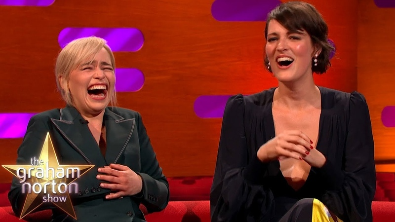 Emilia Clarke LOSES IT At Phoebe Waller-Bridge's Ridiculous Story | Graham Norton's Good Story Guide