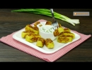 Бюджетное и вкусное блюдо для ленивых - картофельные котлеты с зеленым луком! _