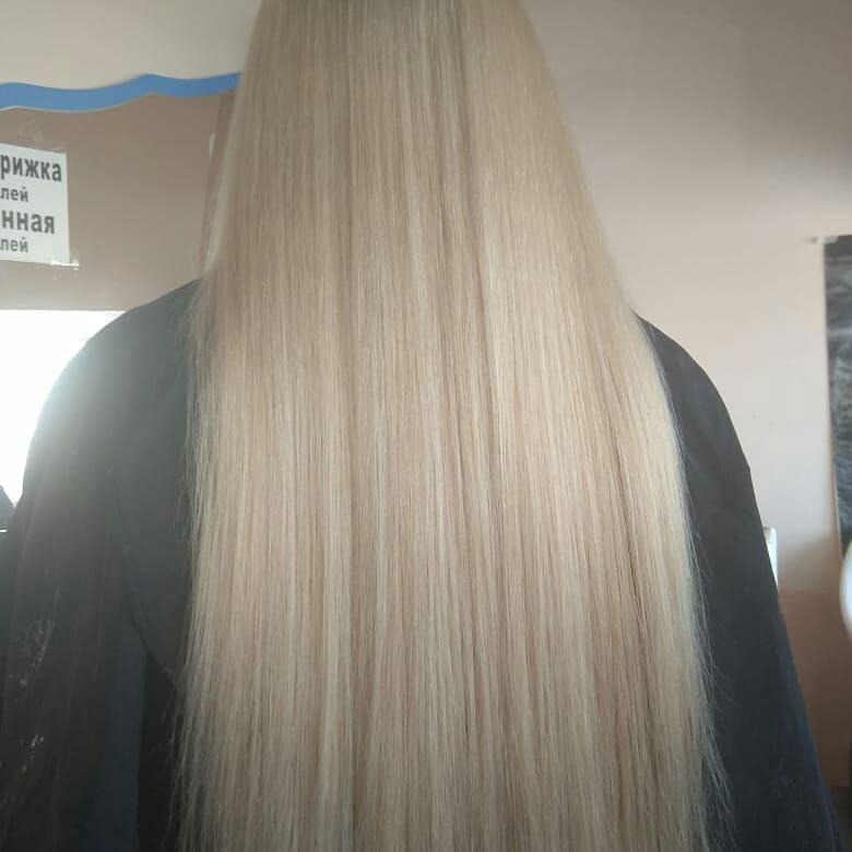 Весь май акция на кератиновое выпрямление и БОТОКС волос любой длины, цена - 1000р.