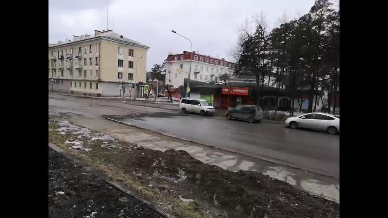 Похороны тротуара на Свердлова. Первый городской перфоманс