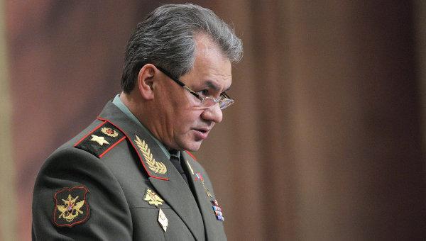 Заявление Шойгу насчёт военного строительства в России