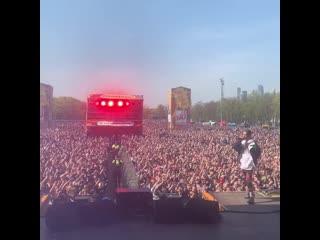 ДЕТИ - ТУРБО ПУШКА (LIVE) HIP- HOP MAY DAY 2019 Moscow