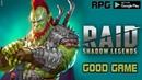 Залипательный RAID Shadow Legends ПЕРВЫЙ ВЗГЛЯД RPG на Андроид