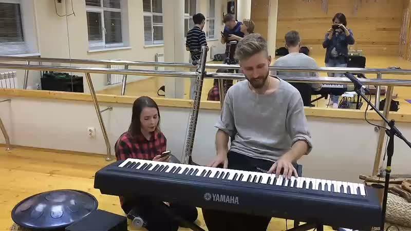 Andrew Jasinski и Настя Заворина в Курске