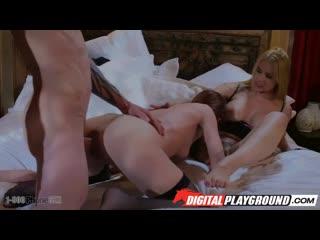 Jillian Janson and Sarah Vandella - The Silent Caller. Episode 4 [All Sex, Hardcore, Blowjob, Threesome]