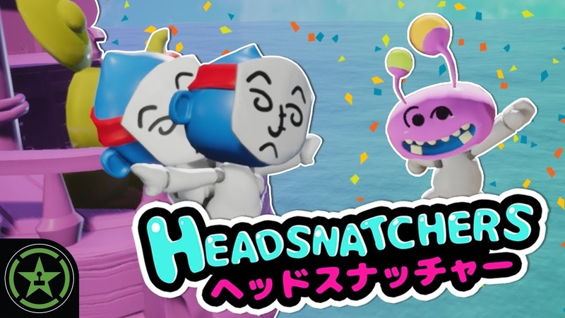 GIMME BACK MY HEAD! - Headsnatchers | Let's Play