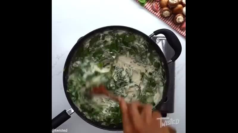 Куриные грудки с грибами под сырным соусом - объедение - Личный повар rehbyst uhelrb c uhb,fvb gjl cshysv cjecjv - j,]tltybt - k