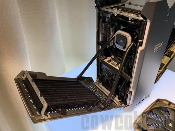 Corsair оснастила мини-ПК One Pro i199 процессором