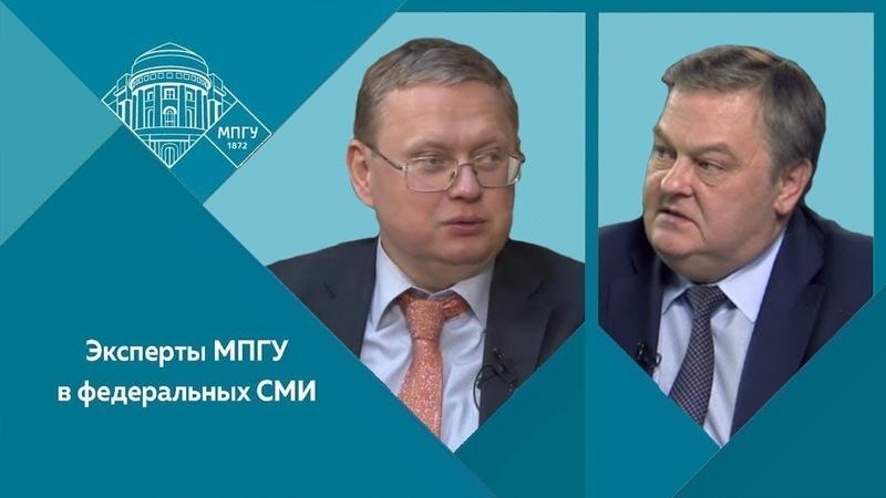 Е.Ю.Спицын и М.Г.Делягин на радио КП в программе Экономика. Был ли неизбежен крах СССР?