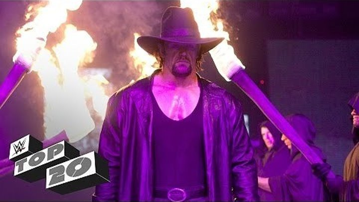 The Undertakers 20 greatest moments - WWE Top 10 Special Edition