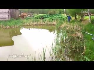 Забавные моменты на рыбалке!_720p
