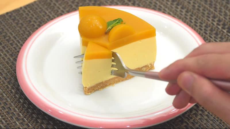чизкейк с манго - Mango Cheesecake