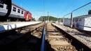 На уровне рельс.Или необычный взгляд на железную дорогу.At the level of the rail.