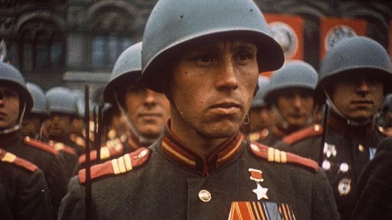 24 июня 1945 года - Парад в честь Победы в ВОВ 9 мая 1945 года