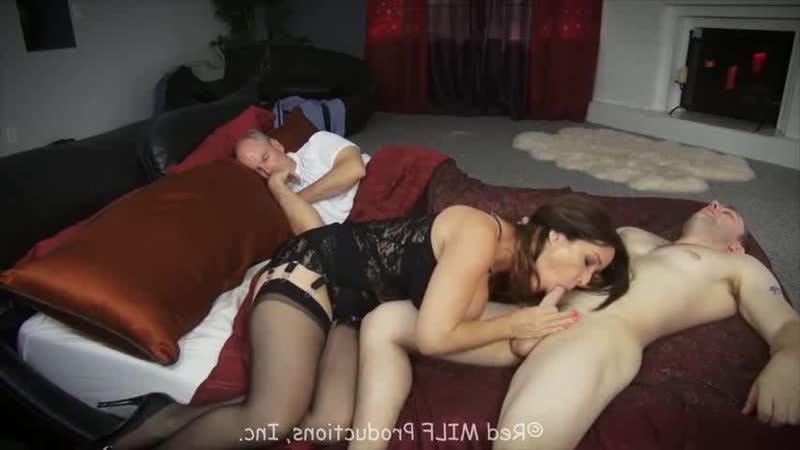 Red Milf: Rachel Steele boy sleeping milf fucked (porno, sex, cumshot, couples, facial, mature, boobs, full,