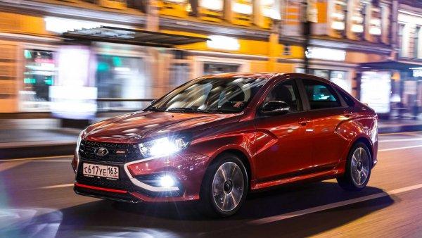 Горячая заруба LADA Vesta Sport сравнили в драг-рейсинге с VW Polo и корейцами