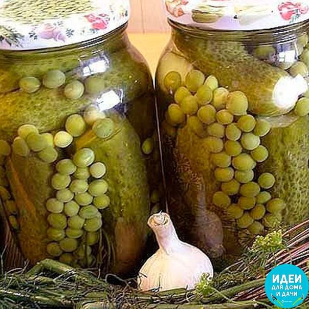 Набор для оливье из зеленого горошка и огурцов (Пошаговый рецепт)