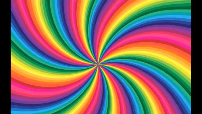 Create Rainbow Colored Swirl Twisting Background in Adobe Illustrator