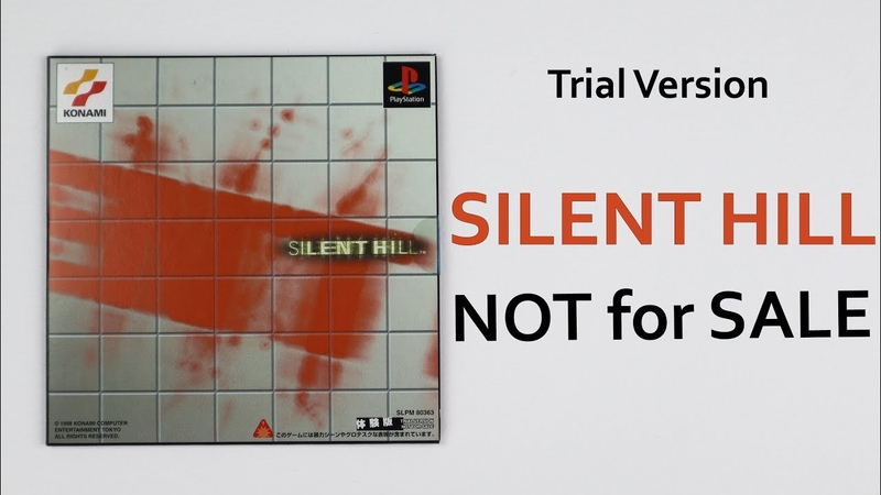Silent Hill Trial Version PS1 Not For Sale (JP) Unboxing ASMR