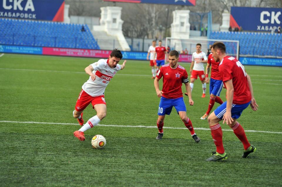 «Спартак-2» проиграл в Хабаровске (Видео)