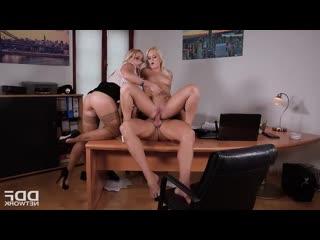 Kathia Nobili & Rossella Visconti - DDF Network Series: Sex police departament (2018) [Anal, Blowjob, Threesome, Foot fetish]