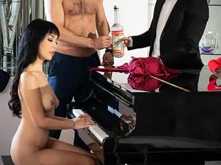 Marica Hase, нежный секс, трах, минет, ебля, экзотика, азиатка, грудь, подсматривает, чувственное порно [FULL HD 1080 Sex porno]