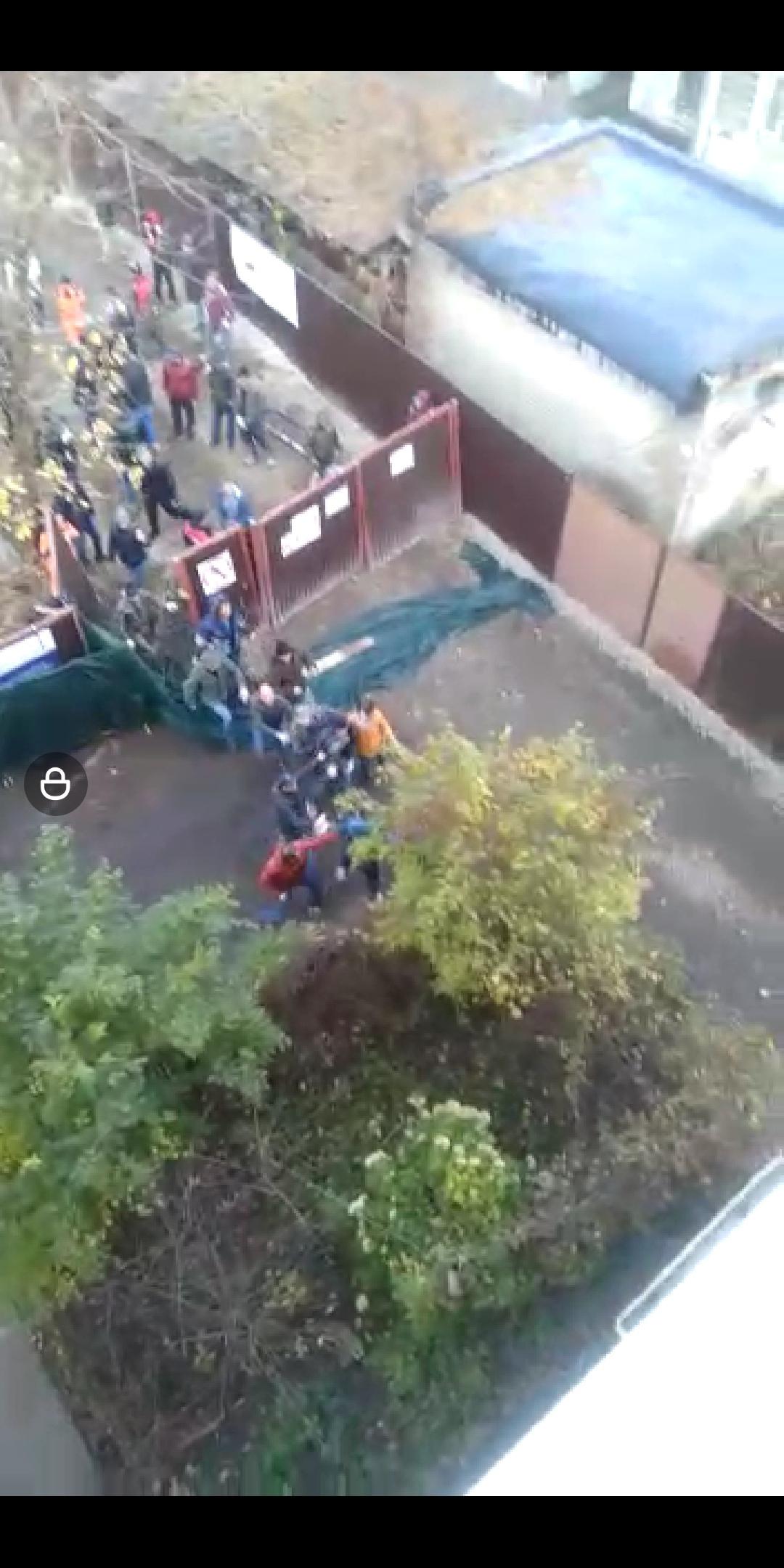 Скриншоты с видео, драки, крик, мат, жильцы