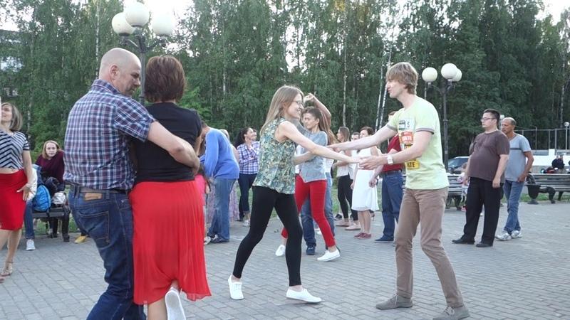 Танцы на Театральной площади г. Сыктывкара 29.07.2018 - 12 - Latin Hustle