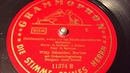 Willy Schneider Heidemarie Wenn Wir Am Rhein Marschieren 78 rpm Grammophon 11374