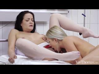 Angelika Greys and Dolly Diore - Night Nurse [Lesbian]