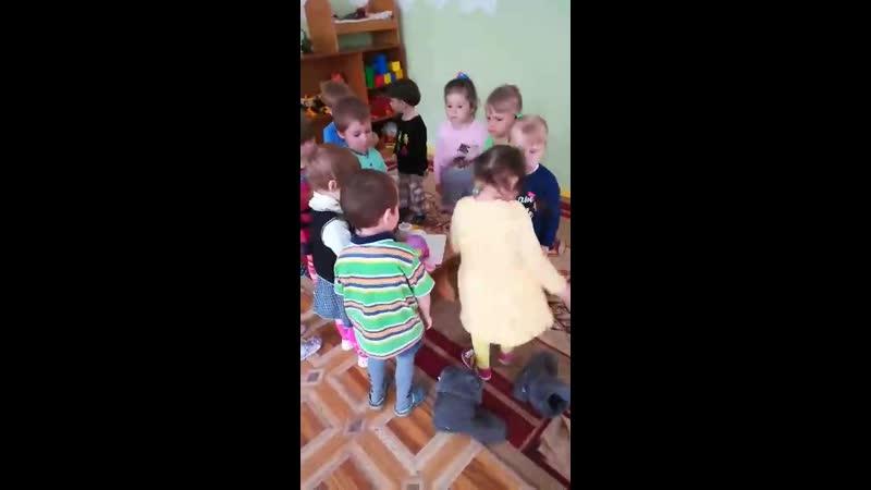репетиция в детском саду