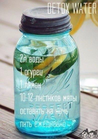 Очищение водой: этот напиток подарит тебе здоровье и красоту.