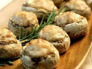 Как приготовить фаршированные грибы на гриле рецепт от Юлии Высоцкой -