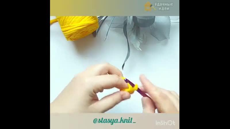 Небольшой урок вязания