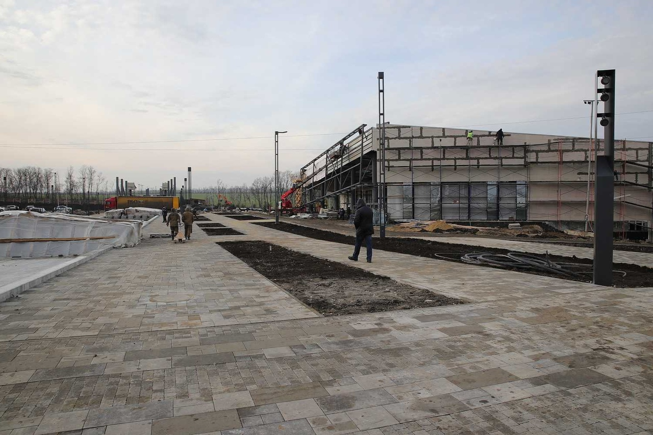 Возведение музейного комплекса «Самбекские высоты» вышло на финишную прямую