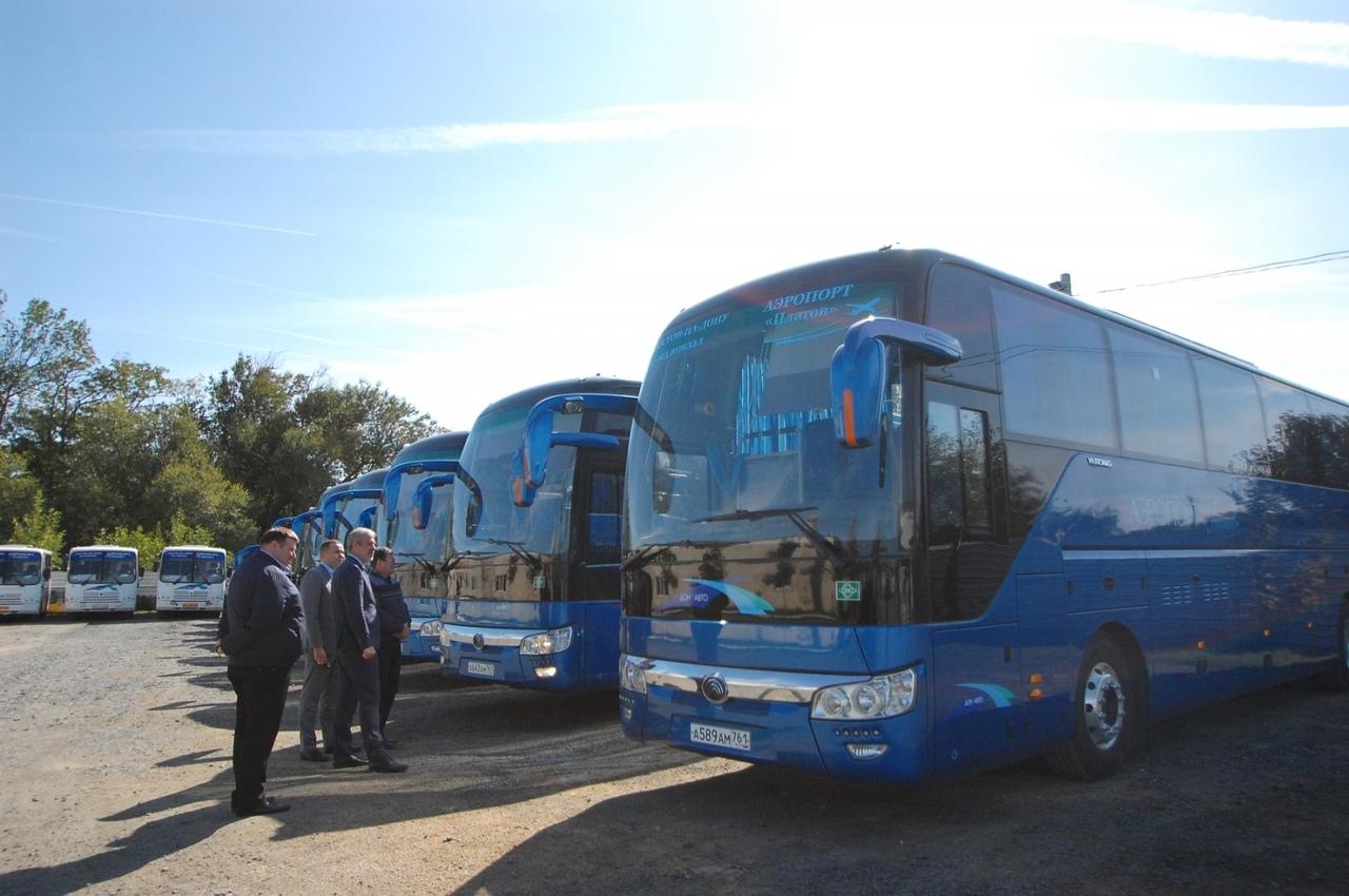 На маршрут «Ростов – аэропорт «Платов» выходит обновленный подвижной состав