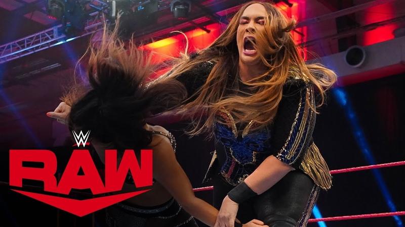 My1 Nia Jax returns to crush Deonna Purrazzo Raw April 6 2020