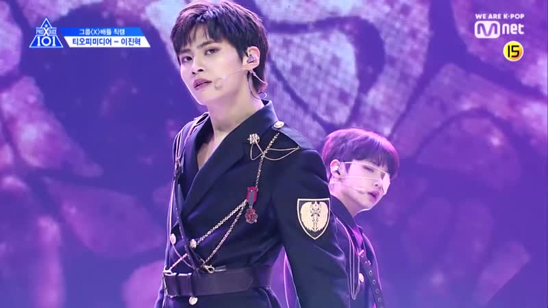 PRODUCE X 101 [단독 직캠] 일대일아이컨택ㅣ이진혁 - NCT U ♬BOSS @그룹X배틀 190517 EP.3