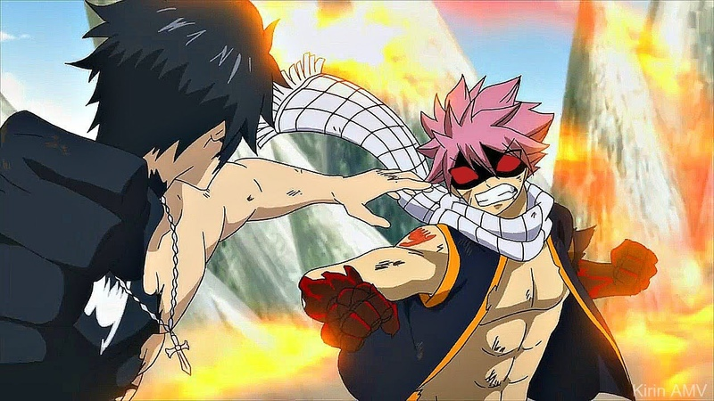 Natsu E.N.D vs. Gray Devil Slayer Full Fight - Fairy Tail Final Season 3 AMV