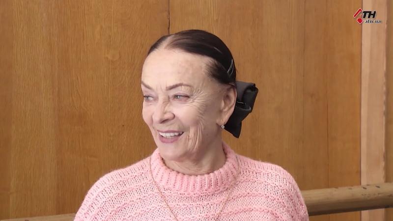 В честь харьковской балерины Светланы Колывановой открыли именную звезду возле ХНАТОБа 16 10 2020