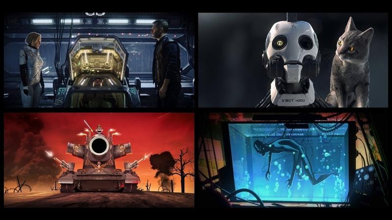 Любовь, смерть и роботы 1 Сезон - Тизер Трейлер (2019) Netflix