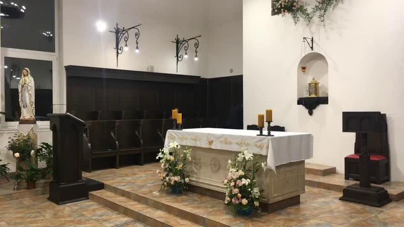 Святая Месса в монастырском храме св. Антония Чудотворца с Вечерней и богослужением св. Антонию