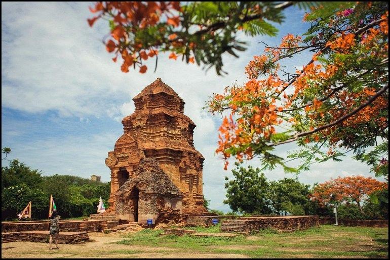 Интересные места нашей планеты Чамские Башни По Шану (Вьетнам), изображение №1
