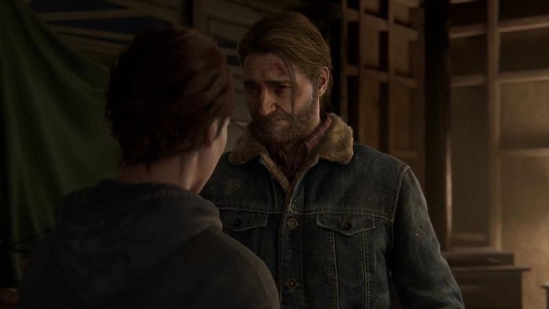The Last of Us™ Part II ELLIE TOMMY AFTER JOEL'S DEATH CUTSCENE
