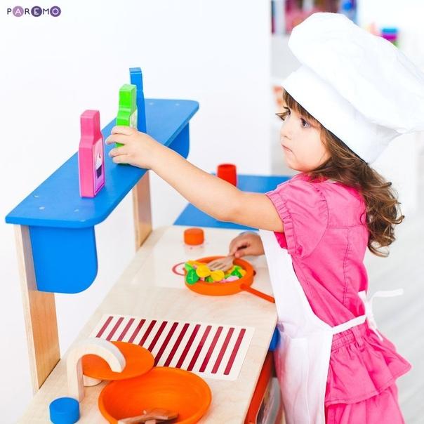 Думаете ,что купить маленькой принцессе для ее развитияВыбор очевиден- детскую КУХНЮ Детская кухня-это лучшая палочка -выручалочка как для родителей, так и для ребенка .Так как при помощи