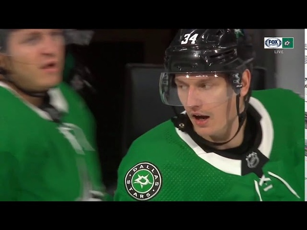 Denis Gurianov brings the Stars within 1 Dallas Stars Vs Colorado Avalanche August 5th 2020