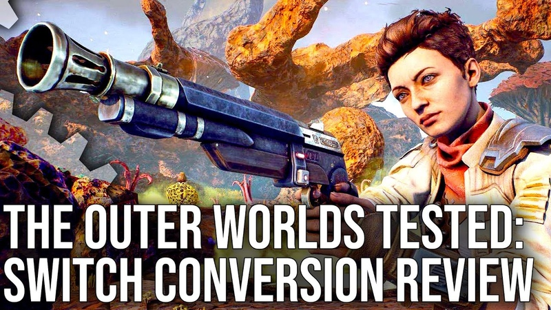 The Outer Worlds Switch Review: Ambitious But Ultimately Not Good Enough