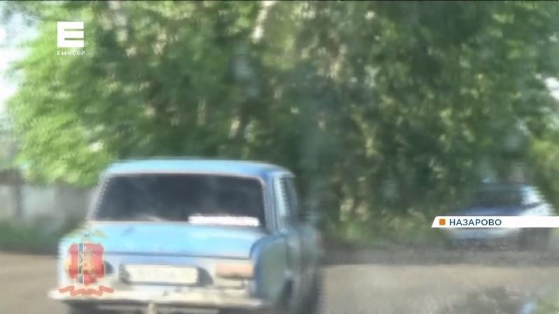 В Назарово 16-летний подросток устроил три ДТП и гонки с ГИБДД