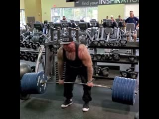 Становая тяга 317 кг на 4 повторения